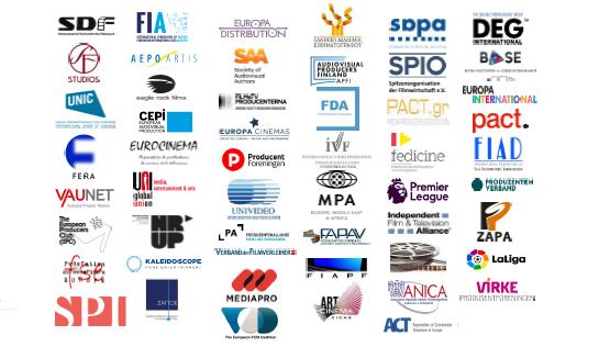 Communiqué de presse commun du secteur audiovisuel européen