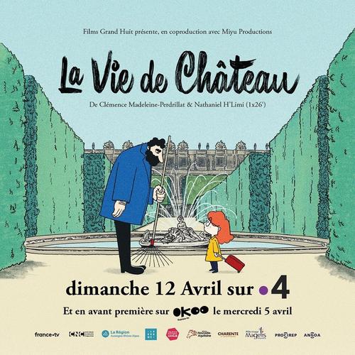 """ANIMATION : """"La vie de château"""" produit par Films Grand Huit et Miyu Productions sur France 4"""