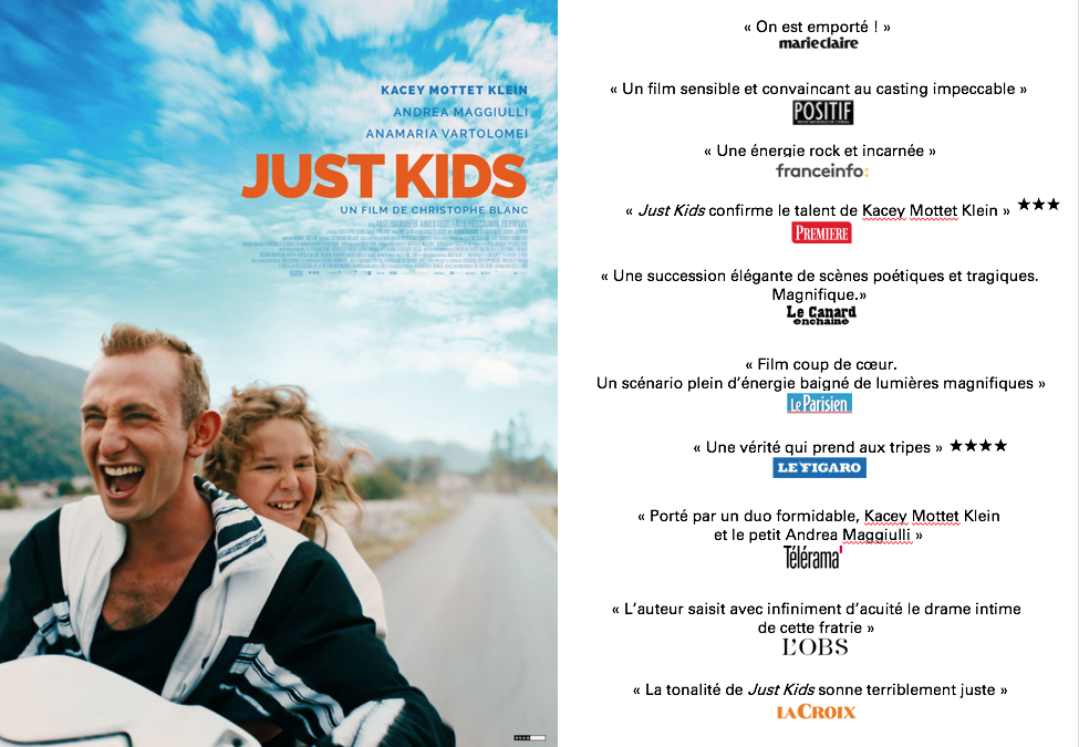 JUST KIDS de Blue Monday Productions